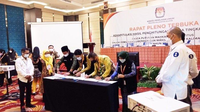 Denny Indrayana Gugat Hasil PSU Pilgub Kalsel 2020 ke MK, KPU Tunda Penetapan