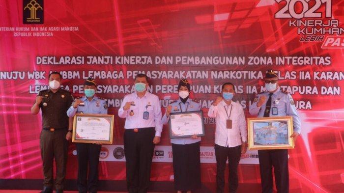 Wujudkan WBK Dan WBBM, Kepala LPKA Martapura Berkomitmen Menolak KKN