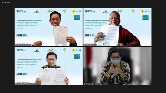 Sinergi 3 BUMN, PLN Amankan Pasokan Biomassa