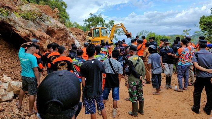 Dua Korban Tertimbun Longsor di Tambang Batu Gunung HSS Ditemukan, Begini Kondisinya
