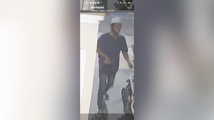 Pencuri Motor Terekam CCTV Dalam Pengejaran Polisi, Polres HST Imbau Warga Waspada