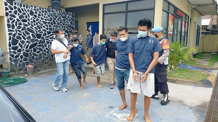 Amankan Pistol Rakitan dari Komplotan Pencuri Sarang Walet, Polres Kotim Kalteng Selidiki Asal Senpi