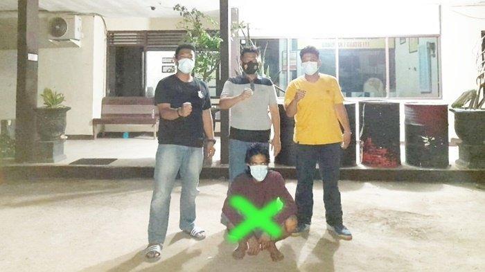 Penggondol Gear, Rantai dan Ban Motor Diciduk Petugas Polsek Banjarbaru Timur Kalsel