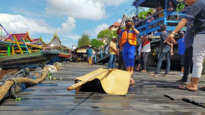 Penemuan Mayat di Kalteng, Pedagang Pasar PPM Sampit Geger Jasad Mengapung di Sungai Mentaya