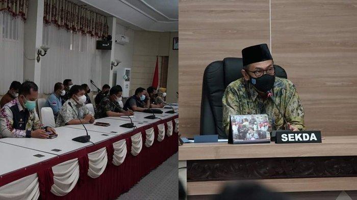 Dipimpin Sekda, Rapat Vaksinasi Putuskan Penerima Bantuan Sosial di HSS Wajib Jalani Vaksin