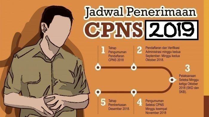 Info CPNS 2019, Simak Daftar Hoaks & Kesalahan Pendaftaran Jelang Seleksi Penerimaan CPNS 2019