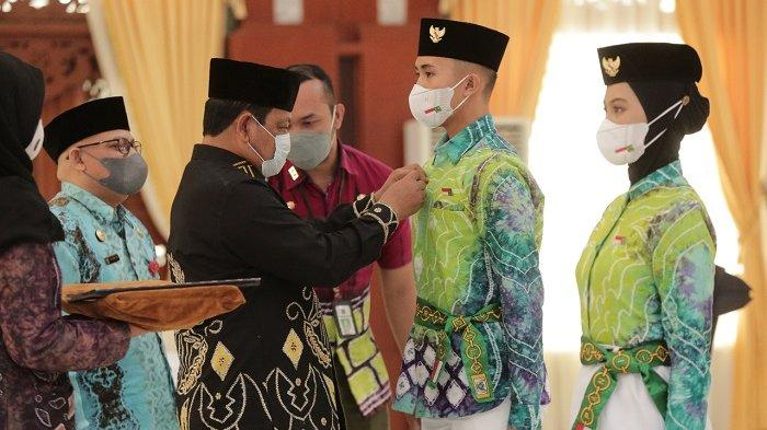 Penetapan Purna Paskibraka Kalsel Sebagai Duta Pancasila, Gubernur : Ini Tugas Mulia Negara
