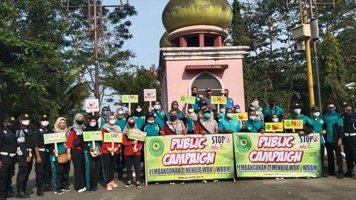 PN Rantau Gelar Public Campaign Zona Integritas Menuju WBK dan WBBM