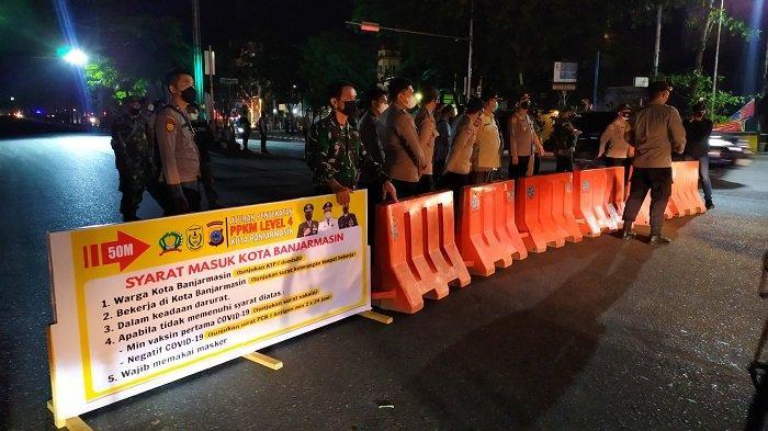 Banjarmasin dan Banjarbaru Turun ke Level 3, Kini di Kalsel Tersisa Kotabaru Terapkan PPKM Level 4