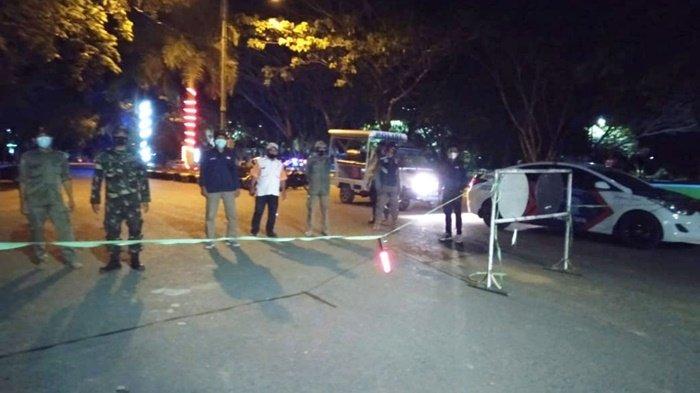 Ratusan Petugas Amankan Malam Idul Adha 1442 H di KabupatenTapin, Tak Ada Takbir Keliling