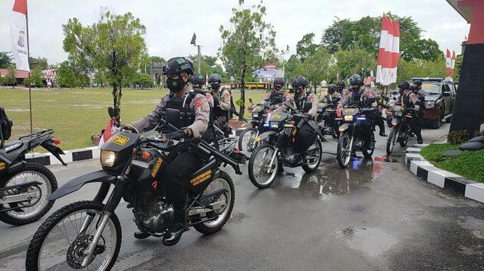 Polda Kalteng Tingkatkan Pengamanan dari Mapolda Hingga ke Tingkat Pos Polisi