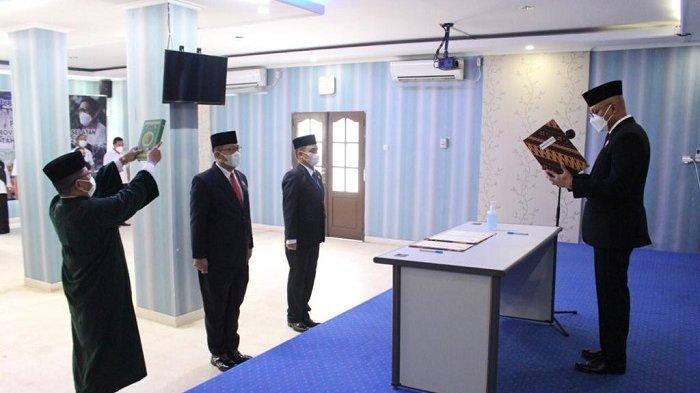 Pelantikan Kepala BNNK Banjarmasin, Uskiansyah Resmi Gantikan Agus Lukito