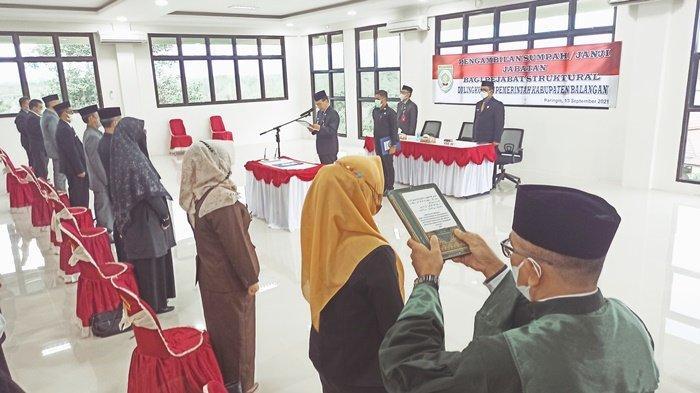 Pemerintah Kabupaten Balangan Lantik 42 Pejabat