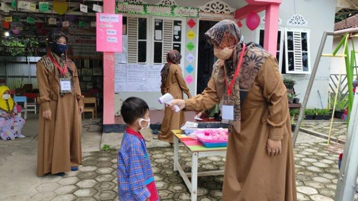 PPKM Kabupaten Tabalong Turun Level, PTM Bisa Digelar di Sekolah yang Dapat Izin