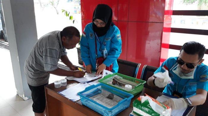 Sopir Angkutan Umum di Kabupaten Tabalong Ternyata Ada yang Positif Narkoba