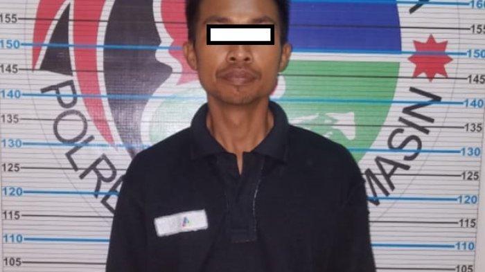 Teknisi Operator Seluler di Banjarmasin Kedapatan Polisi Bawa Sabu 1,01 Gram