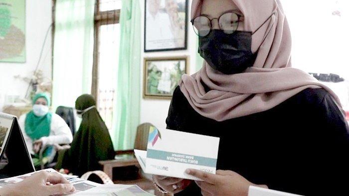 Pengelolaan Bank Sampah Sekumpul, lokasinya di Jalan Pendidikan, Gang Berkat Tawakal, Kelurahan Sekumpul, Kota Martapura, Kabupaten Banjar, Provinsi Kalimantan Selatan (Kalsel).