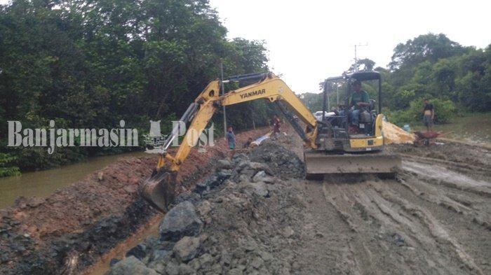 Tanjung Seloka Belum Diaspal, Mantan Kadis PUPR Kotabaru Sebut Faktor Alam Jangan Jadi Alasan