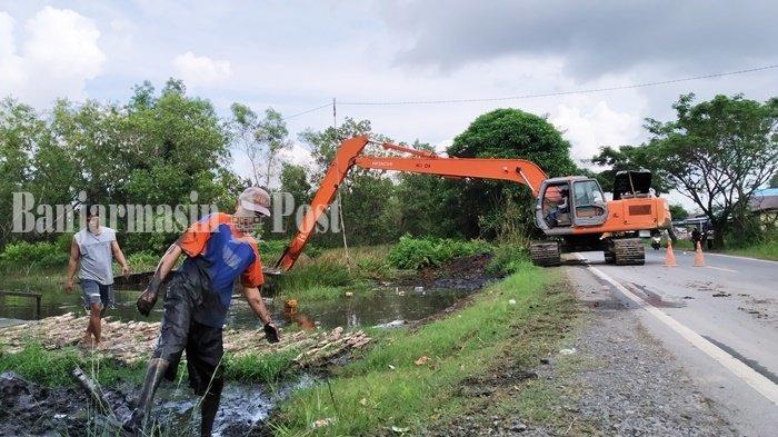Pasca Banjir, Pemerintah Kabupaten Batola Upayakan Percepatan Perbaikan