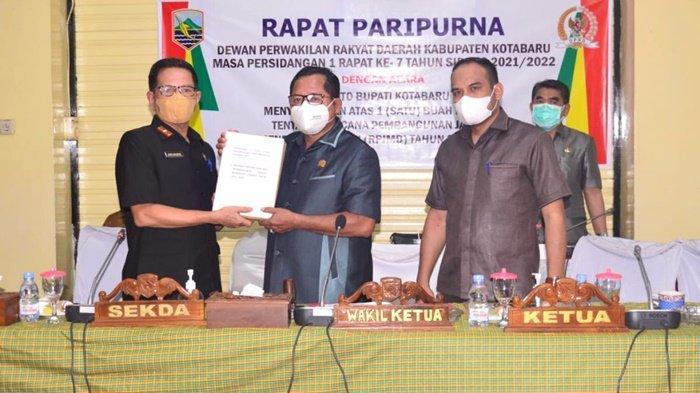 Raperda RPJMD Kabupaten Kotabaru Disahkan untuk Menjadi Perda