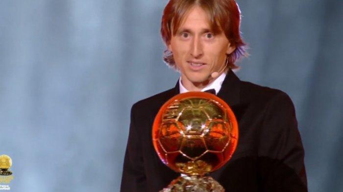 Ballon d'Or 2018 - Sihir Luka Modric Akhiri Dominasi Messi - Ronaldo, Kylian Mbappe Muda Terbaik