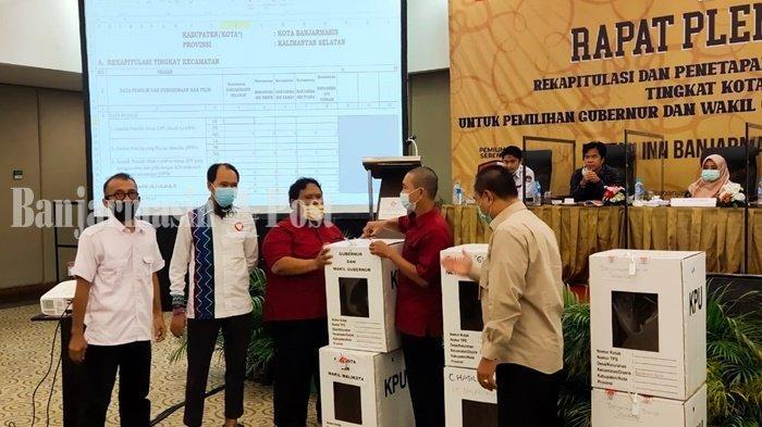KPU Siap Hadapi Gugatan Paslon AnandaMu di MK Atas Hasil Pilwali Banjarmasin 2020
