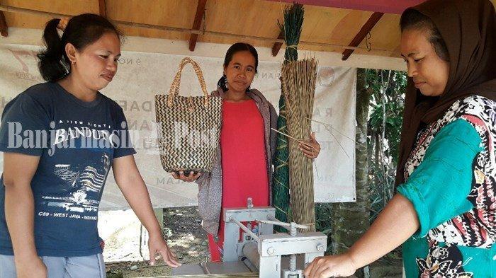 Perajin di Banjarbaru Diharapkan Gunakan Purun Tikus karena Lebih Bernilai Tinggi