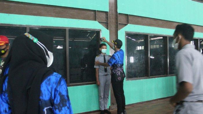Puluhan Pelajar di Tabalong Ikuti Seleksi Penerimaan Paskibraka Tahun 2021