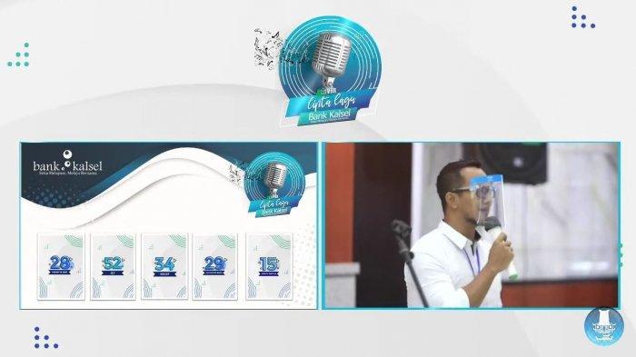 Sisihkan 65 Peserta, Berikut 5 Finalis Lomba Cipta Lagu Bank Kalsel