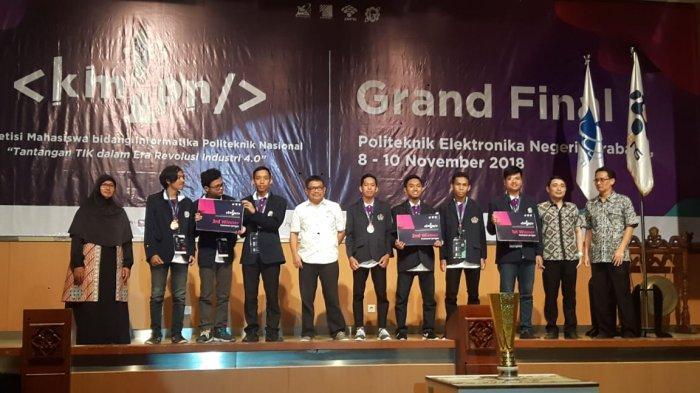 Poliban Berjaya di Kejuaraan Informatika Politeknik Nasional di Surabaya, Sabet 2 Kategori