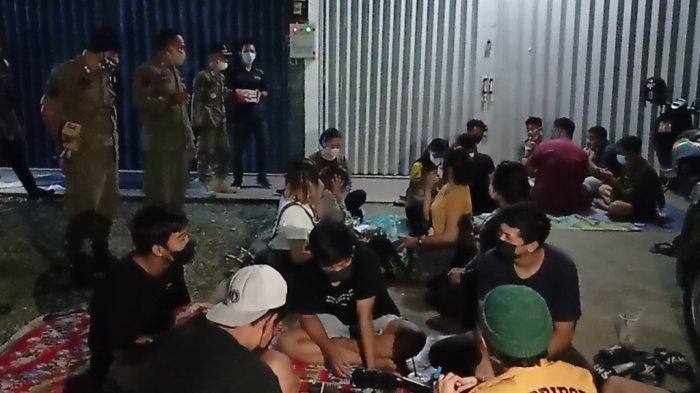 Razia Tempat Nongkrong di Tabalong, Tujuh Orang Jalani Rapid Antigen
