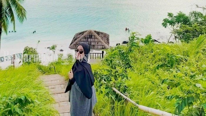 Wisata Kalsel, Banyak Spot Foto Instagramable di Pantai Teluk Tamiang Kotabaru