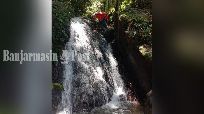 Wisata Kalsel, Air Terjun Berada di Kawasan Hutan Lindung Kawasan Bajuin Kabupaten Tala