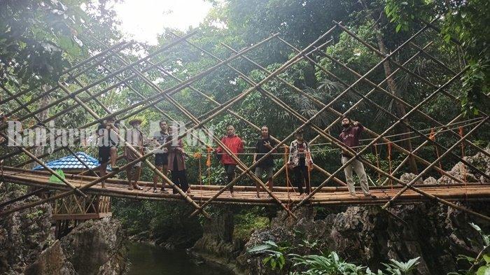 Pembenahan Wisata Batu Badinding di Liyu Kalsel Bertahap, Sudah Ada Pendopo