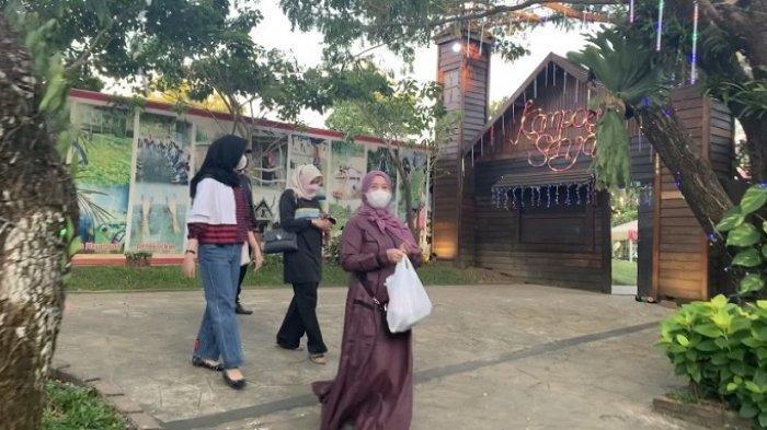 Serunya Berbuka Puasa di Kampung Senja Amanah Borneo Park, Bisa Ngabuburit Nikmati Wahana Sepuasnya