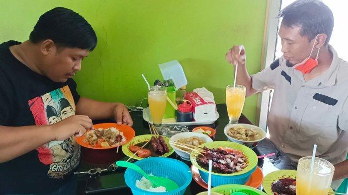 Kuliner Kalsel, Harga Sate Kambing Warung Bu Suman di Karangbintang Tanbu Hanya Rp50 Ribu Seporsi