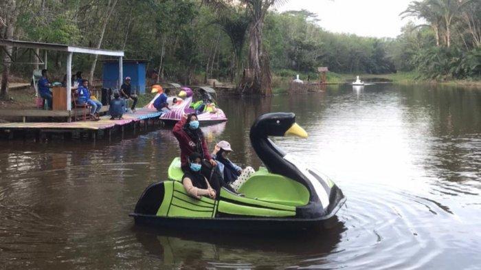 Wisata Kalsel, Taman Bambu Air Dikembangkan Dari Dana Desa Setiap Tahunnya