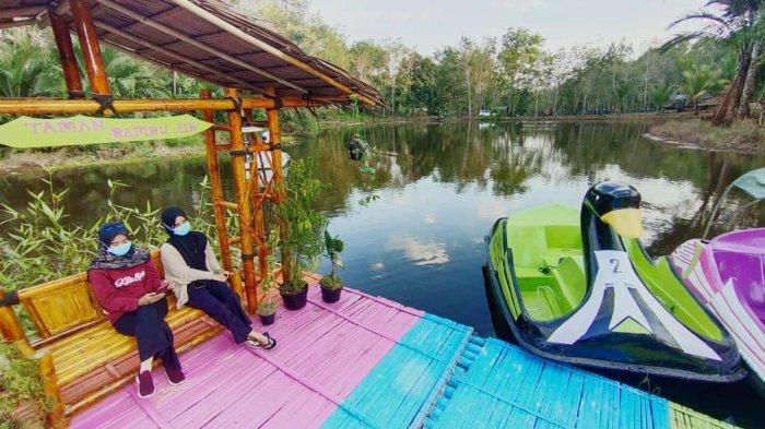 Wisata Kalsel, Taman Bambu Air, Dari Pemandian Warga, Jadi Objek Wisata