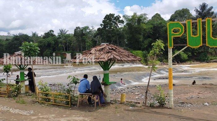 Wisata Kalsel, Pulau Mas Kabupaten HST Semula Tempat Pendulangan Emas