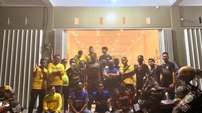 pengurus IMO Kalseltengbar Bersilaturahmi dengan Member Club di Banjarmasin