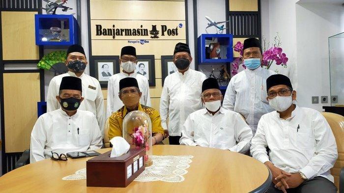 Silaturahmi Dewan Dakwah ke Banjarmasin Post, Terungkap Wacana Bangun Islamic Center