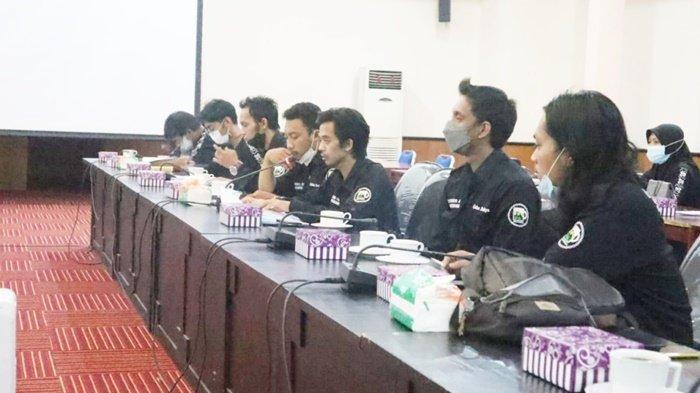 Pengurus Gelas Budaya Bahas Pelestarian Seni di DPRD Kabupaten Tapin