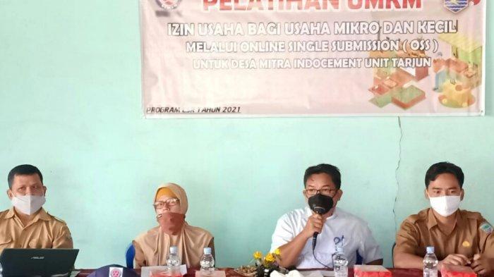 Asisten II Pemkab Kotabaru Hadiri Pelatihan UMKM Digelar PT ITP