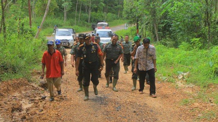Desa Biih Kecamatan Karang Intan Kabupaten Banjar Menjadi Sasaran TMMD Kodim Martapura