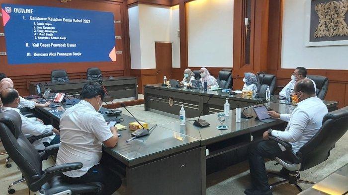 Pj Gubernur Kalsel Instruksikan Aksi Pemulihan Pascabanjir, Beri Target ke SKPD Tiga Bulan