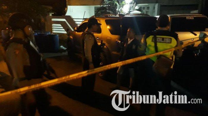 Ledakan Bom Sambut Kedatangan Wali Kota Risma di Lokasi Baku Tembak di Manukan Surabaya