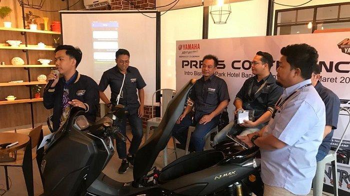 All New Nmax 155 Siap Mengaspal di Kalseltengtim, Dilengkapi Fitur Canggih Y Connected