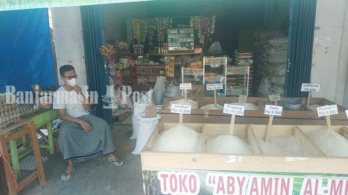 Harga Telur Rp 25 Ribu per Kg di Pedagang Banjarbaru Ini, Harga Beras Lokal Sebagian Turun