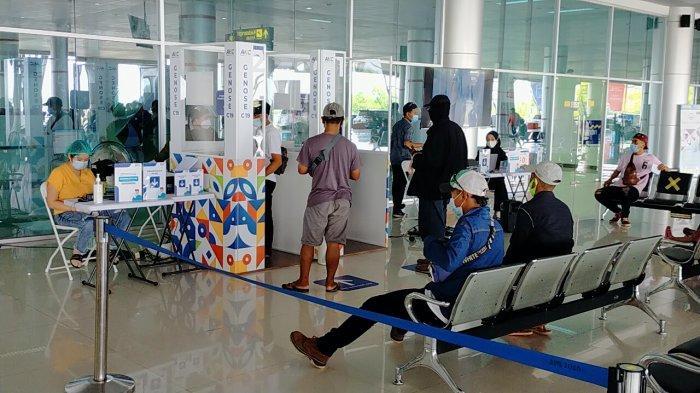 Masuk Bandara TJilik Riwut Palangkaraya Mahal, Pemudik Pilih Lewat Bandara Syamsuddin Noor Kalsel