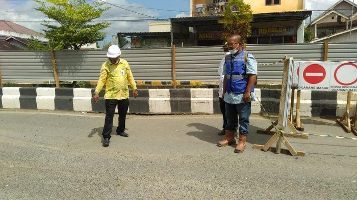 Jembatan Nasional di Jalan Raya Batulicin Kalsel Ditutup, Jalan Terpaksa Dialihkan